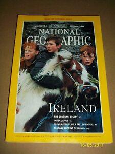 National Geographic Magazine Vol. 186 No. 3 No Map September 1994 !
