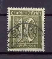 DR 178 Freimarke 10 Pfg. Wz. Waffeln gestempelt KB Weinbuch einwandfrei (ts168)