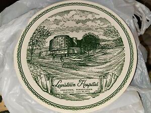 Lewistown PA Hospital Dedication 6/30/73 Plate