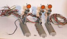 Fleischmann 6200 H0 Konvolut 3 x Form-Vorsignal 2 x ohne Funktion, für Bastler