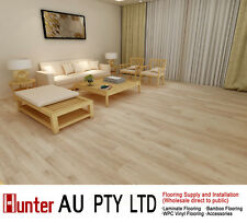 12MM Laminate Flooring-Natural Oak Color-Click Lock Floorboards Sample