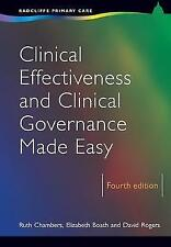 Clinical Effectiveness and Clinical Governance Made Easy, 4th Edition (Radcliff
