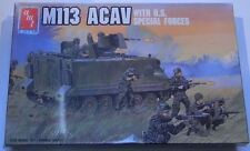 AMT Ertl M113 ACAV 1:72 Transport US ARMY Model Kit with Special Forces