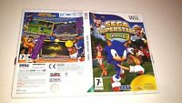 Sega Superstars Tennis Video Game for Nintendo Wii PAL TESTED