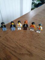Lego City Criminals Minifigure Bundle