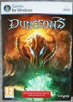 DUNGEONS SPECIAL EDITION PC DVD-ROM RPG GAME brand new & sealed UK