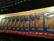 Collection Lego trading cards 10 booster neuf