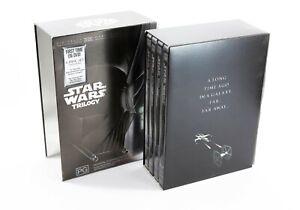 Star Wars Trilogy IV V VI  & Bonus Disc 4 Disc DVD Box Set Region 4