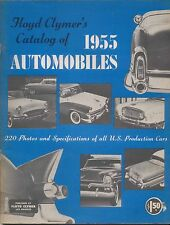 USA 1955 Automobiles Floyd Clymer Buick Cadillac Ford Hudson Nash Packard Willys
