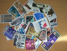 30 Different Malta,Used,Mint,Counted From A Large Box.Excellent.