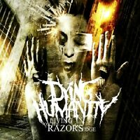 Dying Humanity - Living On The Razor's Edge CD DEATH BETWEEN THE BURIED AND ME