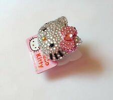 Crystal Pink Bow Hello kitty Paper Clips