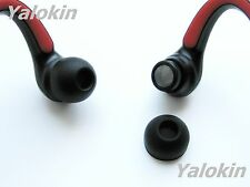 8 BLACK LARGE EARBUDS TIPS MOTOROLA S10 S10-HD HEADSET
