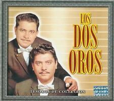 Los Dos Oros CD NEW Tesoros De Coleccion BOX SET Con 3 CD's 30 Canciones !
