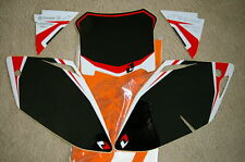 ONE INDUST BLACK  BACKGROUNDS HONDA CRF450 CRF450R 2008