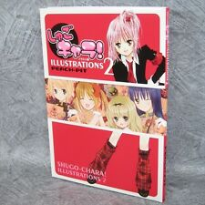 SHUGO CHARA ILLUSTRATIONS 2 Art PEACH PIT Book KO79