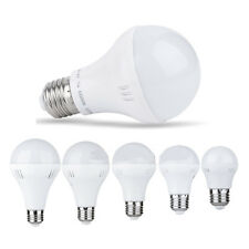 3/5/7/9/12W AC 220V E27 LED Energy Saving Light Bulb Globe Lamp White/Warm White