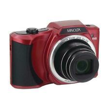 Minolta Mn22Z 20Mp 1080p Full Hd Digital Camera with 22x Optical Zoom, Red