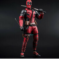 HC Deadpool 1/6 Scale Action Figure Model PVC China Ver. In Stock Cloth Gown New