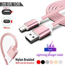 Cavo Dati Type C USB Ricarica Caricatore Per Huawei mate20/P10/P20/P30 XiaoMi LG