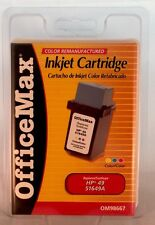 OfficeMax Remanufactured Tri-Color Ink Cartridge Replacement for  HP 49 (51649A)
