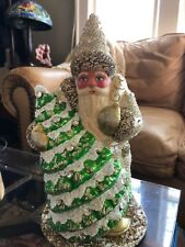 Snowtrim Tannenbaum Christopher Radko Schaller Santa Numbered 14 Of 600