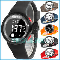 XONIX Unisex Armbanduhr sportlich Alarm Stoppuhr Licht WR100m+ Box