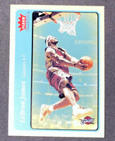 2004-05 FLEER TRADITION BLUE LEBRON JAMES CAVALIERS #140 2ND YEAR
