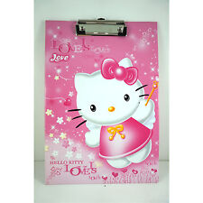 A4 Clipboard Folder Office Document Holder Cover File Foolscap For Hello Kitty
