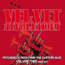 Various - Velvet Revolution Volume Two 1968-1971. Eastern Bloc Rock. New CD