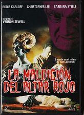 LA MALDICIÓN DEL ALTAR ROJO H.P. Lovecraft Tarifa plana de envío para España 5 €