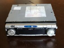 Sanyo FXCD-1350 Car Stereo CD Cassette Receiver