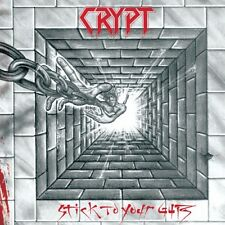 CRYPT - Stick To Your Guts (LIM.150*RED VINYL*CAN 80's Metal/SPEED METAL*EXCITER