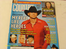 Kenny Chesney  Covers  Country Weekly Magazine 2008 Glen Campbell Shania Twain