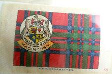 B.D.V. CIGARETTES SILK- MACINTOSH ORIGINAL PRINTED SILK,No.15(apx. 6.5X4.8 cm)