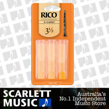 Rico Bb Clarinet Reeds 3 Pack Reed Size 3.5 / 3 1/2 RCA0335 3PK