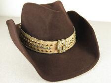Funky Peter Grimm Wool Cowboy Hat Western Halloween Jose Eber Jeweled Cross Cool