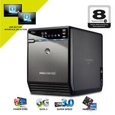 Mediasonic ProBox 4 Bay 3.5 Inch SATA HDD Enclosure - USB 3.0 & eSATA HF2-SU3S2
