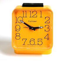 Reloj despertador FICHTER original Vintage mecanico funciona