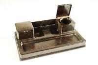 Schreibtisch Garnitur Ablage Helit 447 Bakelit Tintenf Utensilo Vintage 30-40er