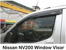 NISSAN NV200 WIND DEFLECTORS VISOR STICK GLUE ON 2009- BRAND NEW 2PC HEKO TINTED