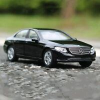 2016 Mercedes-Benz E-Class Model Cars 1:36 Toys Collection Black Alloy Diecast