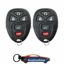 2 Replacement for GMC Acadia - 2007 2008 2009 2010 Remote