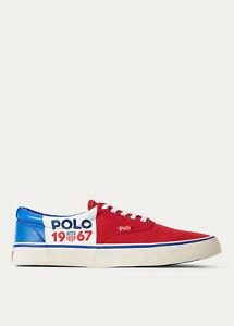 Polo Ralph Lauren Thorton Sneakers Shoes Color Block Stadium 1967