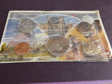 CANADA set oficial 1982 FDC 6 monedas desde 1 cent hasta 1 dolar