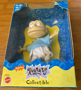 Vintage 1997 Nickelodeon Rugrats Collectible Dil Doll By Mattel NEB #69254 Nice