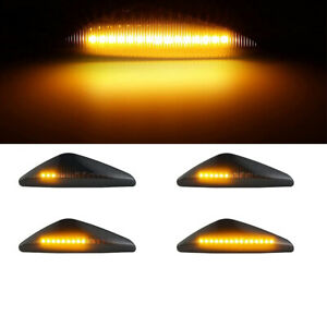 Sequential LED Side Marker Turn Signal Lights For BMW X5 E70 X6 E71 E72 X3 F25