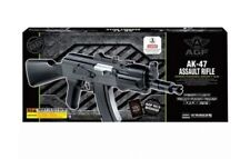 New Academy Assault AK 47 Airsoft Gun Rifle #17112 Snow Camo Model Kit AK-47 Fn