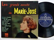 "MARIE-JOSE Les Grands Succes de 10"" LP Odeon 1264 FRANCE press 1956 Chanson"