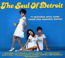 The Soul Of Detroit 3-CD NEW SEALED Eddie Holland/Contours/Supremes/Temptations+